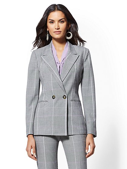 7th Avenue - Double-Breasted Blazer - New York & Company