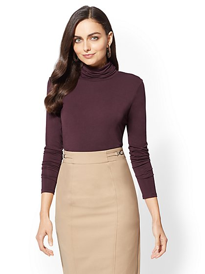 7th Avenue - Essential Knit Turtleneck - New York & Company