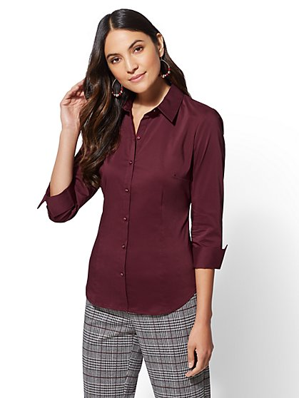 7th Avenue - Madison Stretch Shirt - New York & Company
