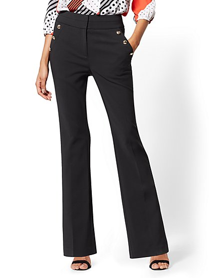 7th Avenue Pant - Barely Bootcut - High-Rise - All-Season Stretch - New York & Company