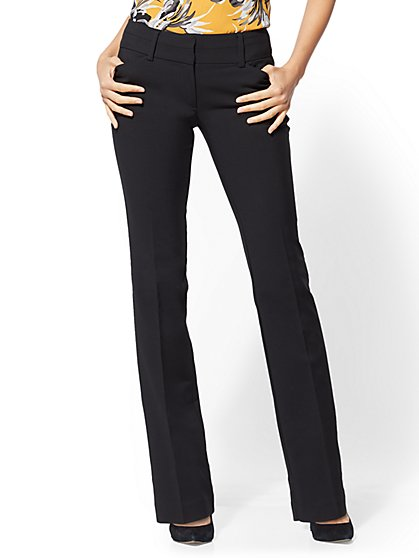 7th Avenue Pant - Barely Bootcut - Modern - All-Season Stretch - New York & Company
