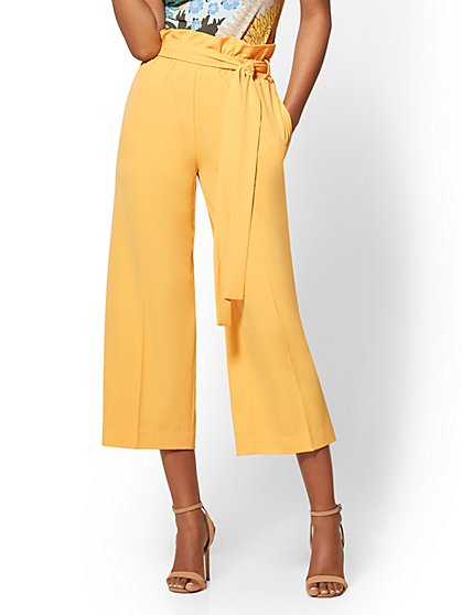 7th Avenue Pant - Crop Wide-Leg - New York & Company