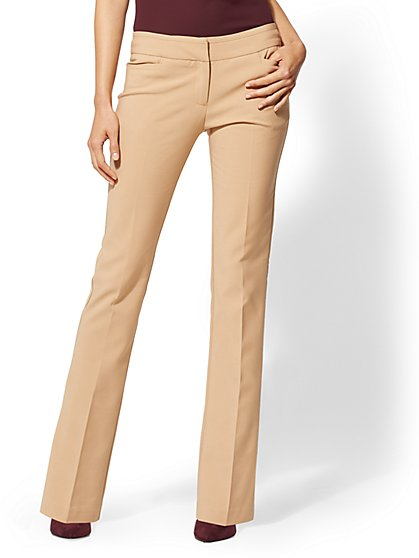 7th Avenue Pant - Petite Bootcut - Signature - All-Season Stretch - New York & Company
