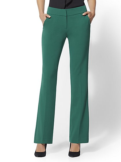 7th Avenue Pant - Petite Straight Leg - Signature - Double Stretch - New York & Company