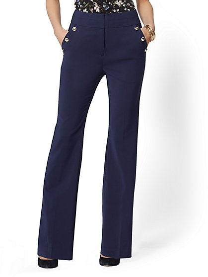 7th Avenue Pant - Tall Barely Bootcut - High Rise - All-Season Stretch - New York & Company