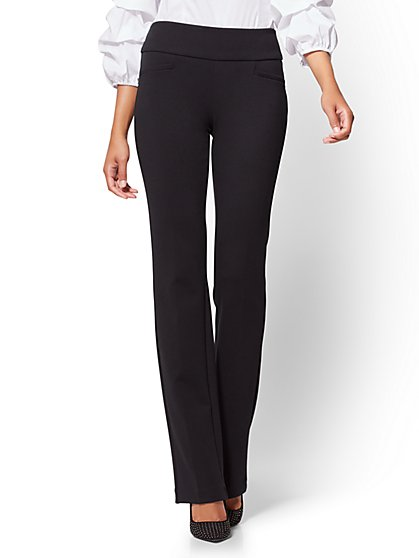 7th Avenue Petite Pant - Bootcut - Signature - Pull-On - Ponte - New York & Company