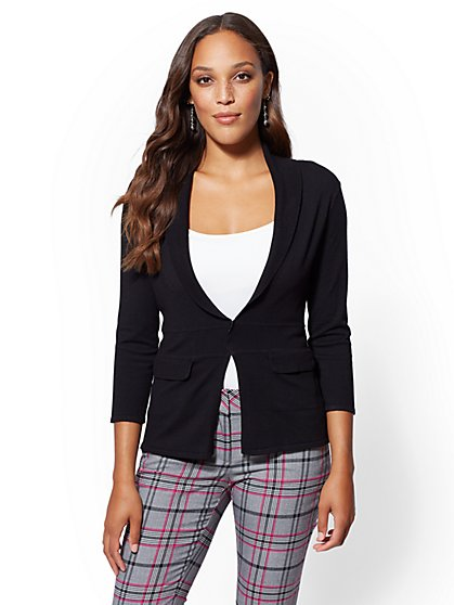 7th Avenue - Shawl-Collar Cardigan - New York & Company
