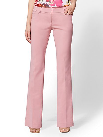 7th Avenue Tall Pant - Mid Rise - Straight Leg Bootcut - Modern - All-Season Stretch - New York & Company
