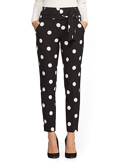 7th Avenue - Tall Polka-Dot The Madie Pant - New York & Company
