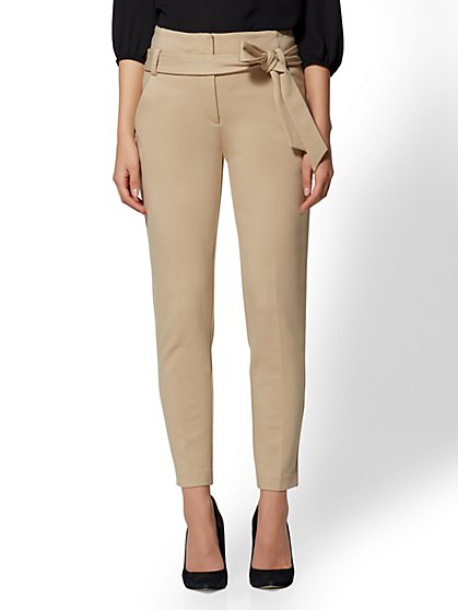 7th Avenue - Tan Madie Pant - New York & Company