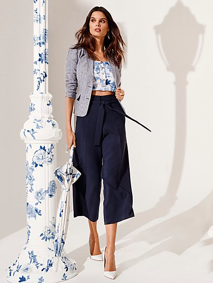 7th Avenue - The Madie Pant - Crop - New York & Company