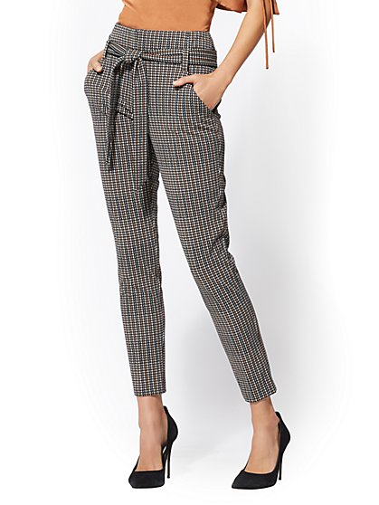 7th Avenue - The Madie Pant - Plaid - New York & Company