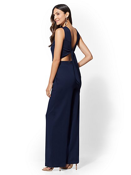 7th Avenue - Tie-Back Jumpsuit - New York & Company