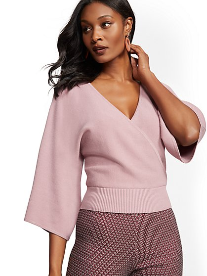 7th Avenue - Wrap Sweater - New York & Company