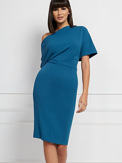 Adeline Sweater Sheath Dress - Eva Mendes Collection - New York & Company