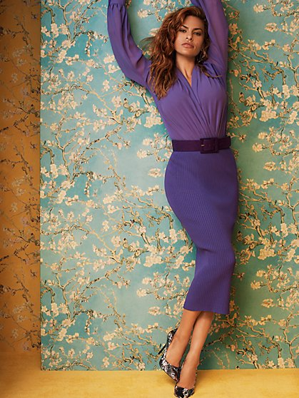 Adelle Sweater Skirt - Eva Mendes Collection - New York & Company