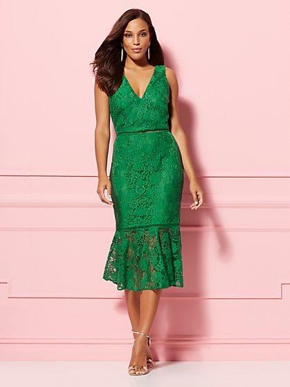 ba1d4a7490f Alexia Lace Sheath Dress - Eva Mendes Party Collection - New York   Company  ...