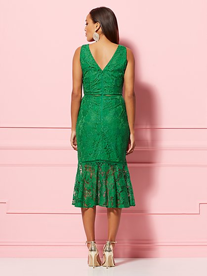 a2944b0754 ... Alexia Lace Sheath Dress - Eva Mendes Party Collection - New York &  Company
