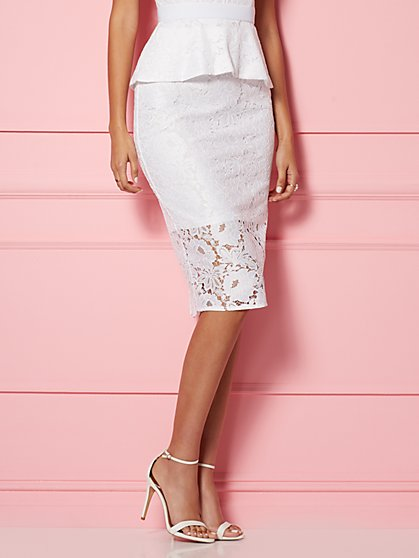 Alexia Lace Skirt - Eva Mendes Party Collection - New York & Company