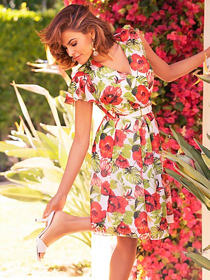 Allison Wrap Dress - Eva Mendes Collection - New York & Company
