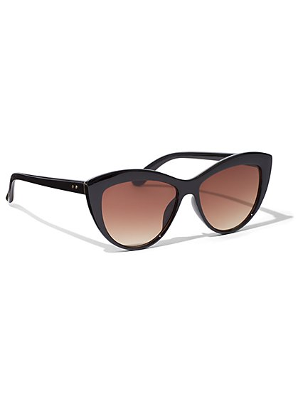 Angular Cat-Eye Sunglasses - New York & Company