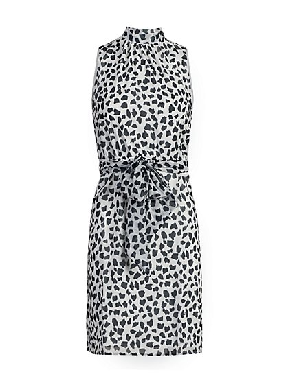 Animal Print Halter Dress - Sweet Pea - New York & Company