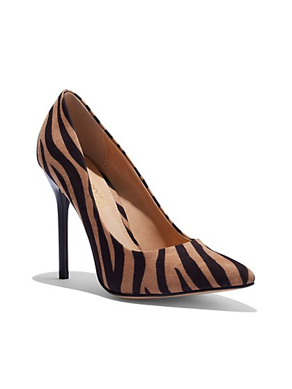 Animal-Print Pump - Eva Mendes Collection - New York & Company