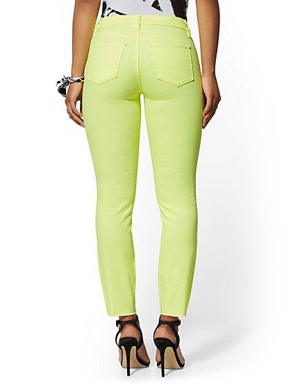 7cbb3f1498739 ... Ankle Jean - Neon Yellow - Soho Jeans - New York & Company