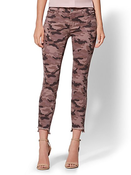 Ankle Legging - Mauve Camo - New York & Company