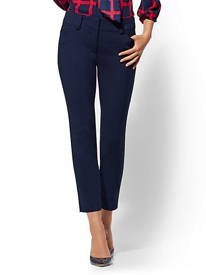 Ankle Pant - All-Season Stretch - 7th Avenue - New York & Company