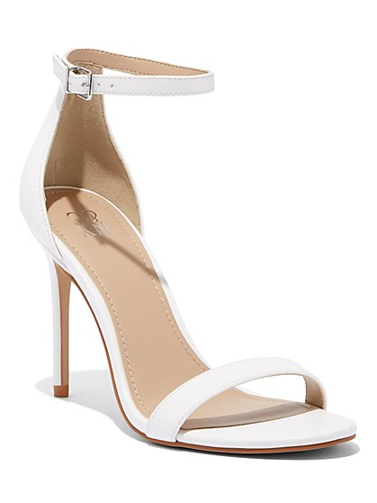 Ankle-Strap High-Heel Sandal - New York & Company