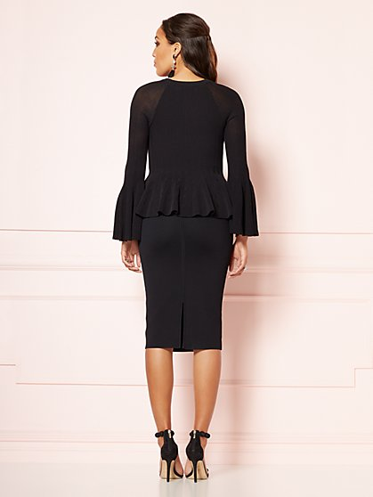 d9a20b1ae43 ... Annika Peplum Sweater - Eva Mendes Party Collection - New York   Company