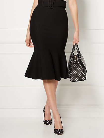 Ariana Black Sweater Pencil Skirt - Eva Mendes Collection - New York & Company