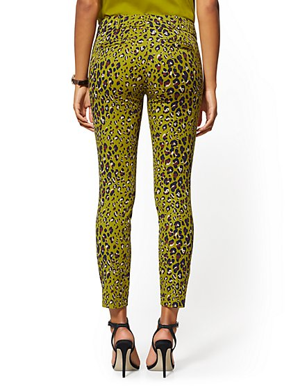 fc7d7da3a77a9 ... Audrey Ankle Pant - Olive Cheetah Print - New York & Company ...