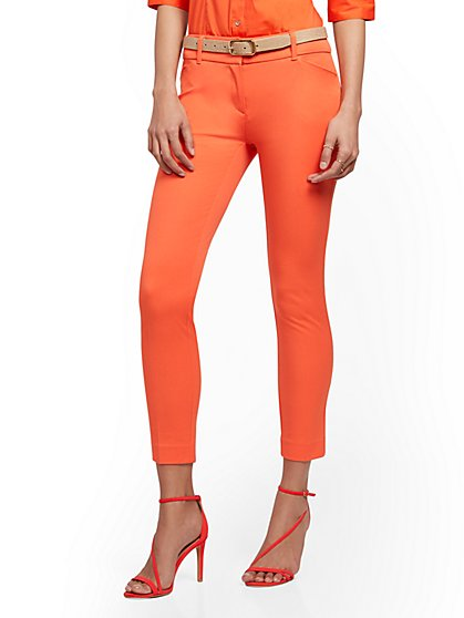 Audrey Ankle Pant - Solid - New York & Company