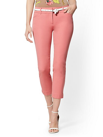 Audrey Crop Slim Leg Pant - New York & Company