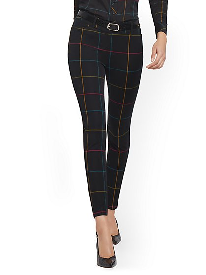 Audrey High-Waisted Ankle Pant - Rainbow - New York & Company