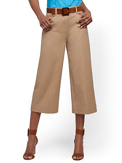 Audrey High-Waisted Wide-Leg Pant - New York & Company