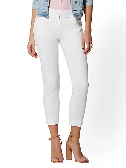Audrey Pant - Crop Slim Leg - New York & Company