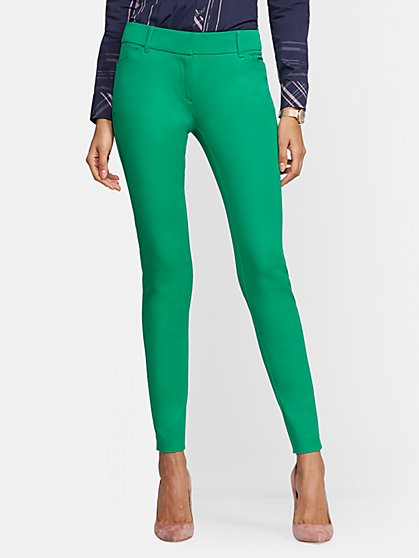 Audrey Slim Leg Pant - Solid - New York & Company