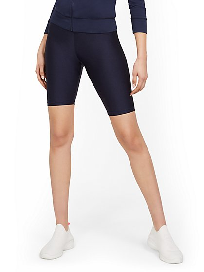 Back Pocket Bike Short - Twilight Blue - New York & Company