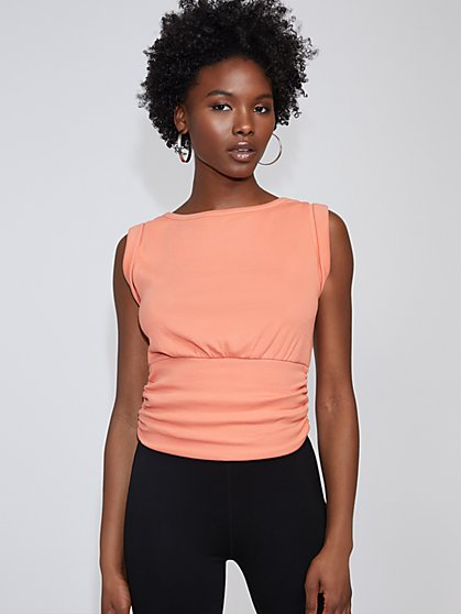 Banded-Hem Tee - Gabrielle Union Collection - New York & Company