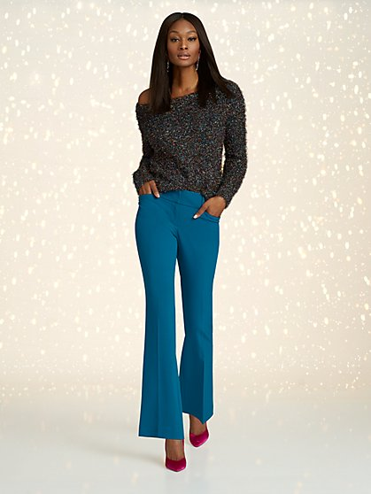 6b3e60154 Barely Bootcut Pant - MId Rise - Double Stretch - 7th Avenue - New York ...