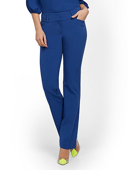 Barely Bootcut Pant - Mid Rise - Double Stretch - 7th Avenue - New York & Company