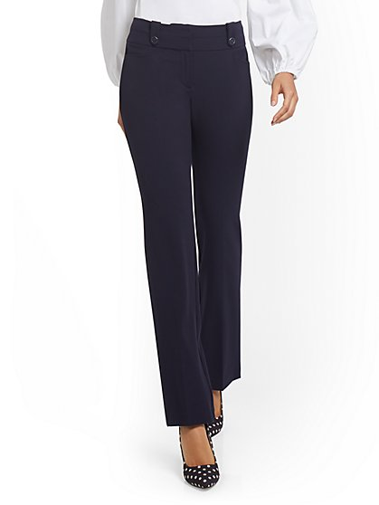 Barely Bootcut Pant - Mid-Rise - Double Stretch - New York & Company