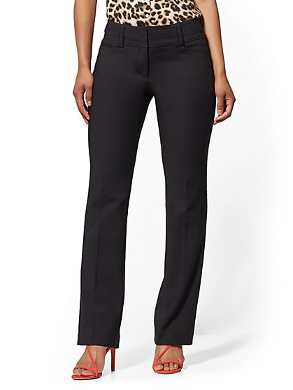 Barely Bootcut Pant - Modern - All-Season Stretch - 7th Avenue - New York & Company