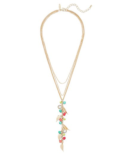 Beaded Y-Necklace - New York & Company