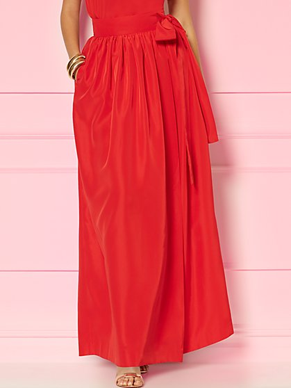 Beatrix Wrap Maxi Skirt - Eva Mendes Party Collection - New York & Company