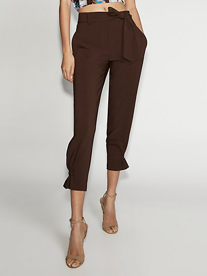 Belted Jogger Pant - Gabrielle Union Collection - New York & Company