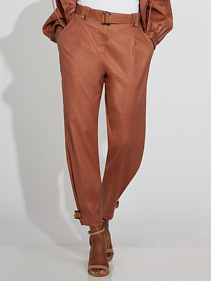 Belted Linen Pant - Gabrielle Union Collection - New York & Company